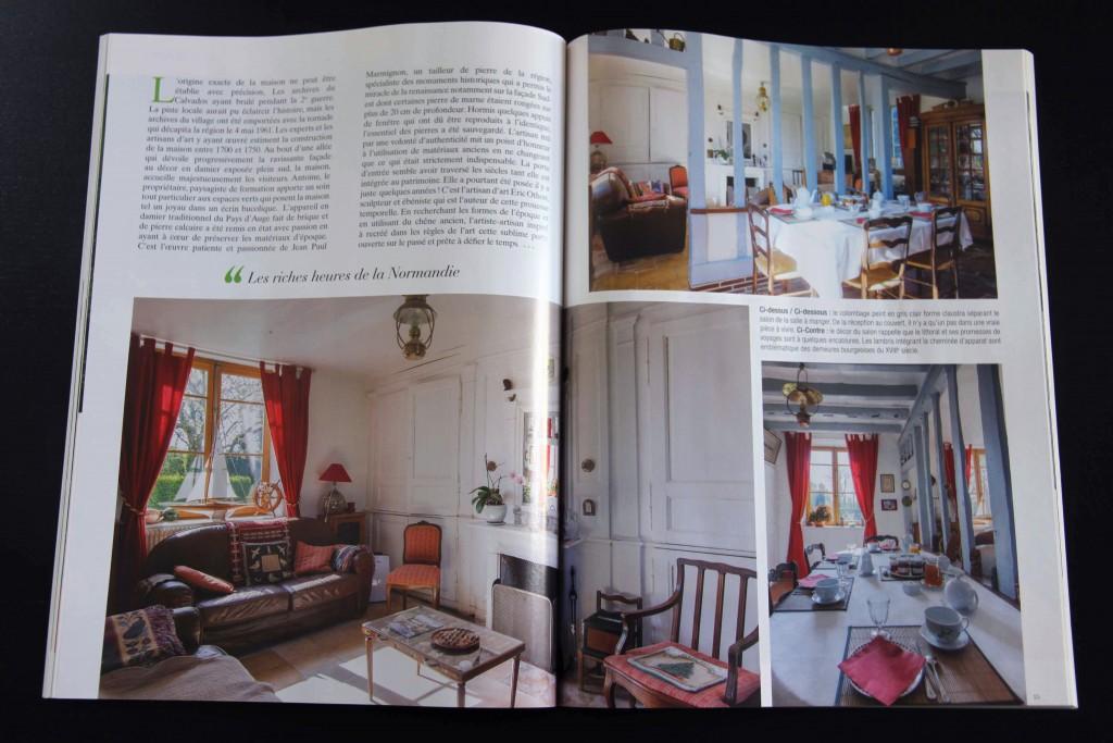 Maisons Normandie, juin - juillet 2017